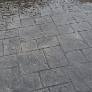 Hormigon impreso piedra adoquin