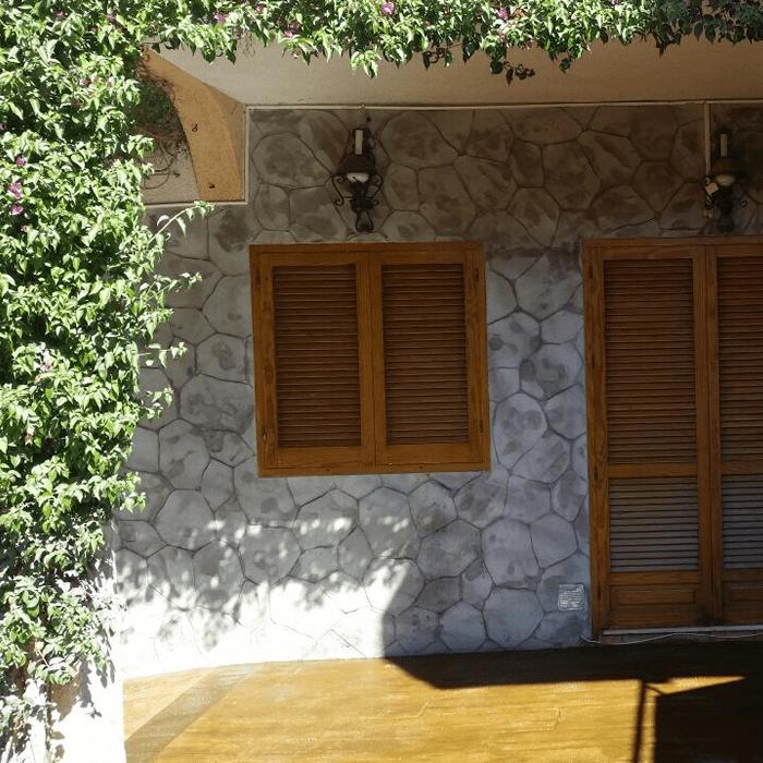 Hormigon impreso vertical en Alicante