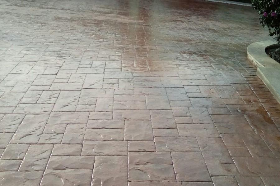 Suelos de hormigon impreso finest nuestras tecnicas - Suelo de cemento pulido precio ...